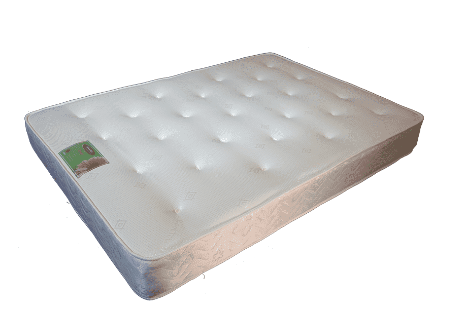 Dual Microcoil Memory  Mattress