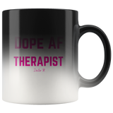 Dope AF Therapist Magic Mug
