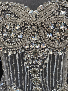 Fran--Beautiful Rhinestone Bodice