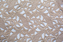 Load image into Gallery viewer, Double Spanish White Guipure Lace