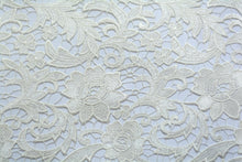 Load image into Gallery viewer, Soft Celeste White Guipure Lace