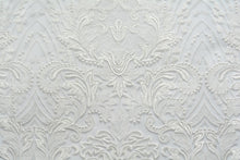 Load image into Gallery viewer, off white border bridal lace