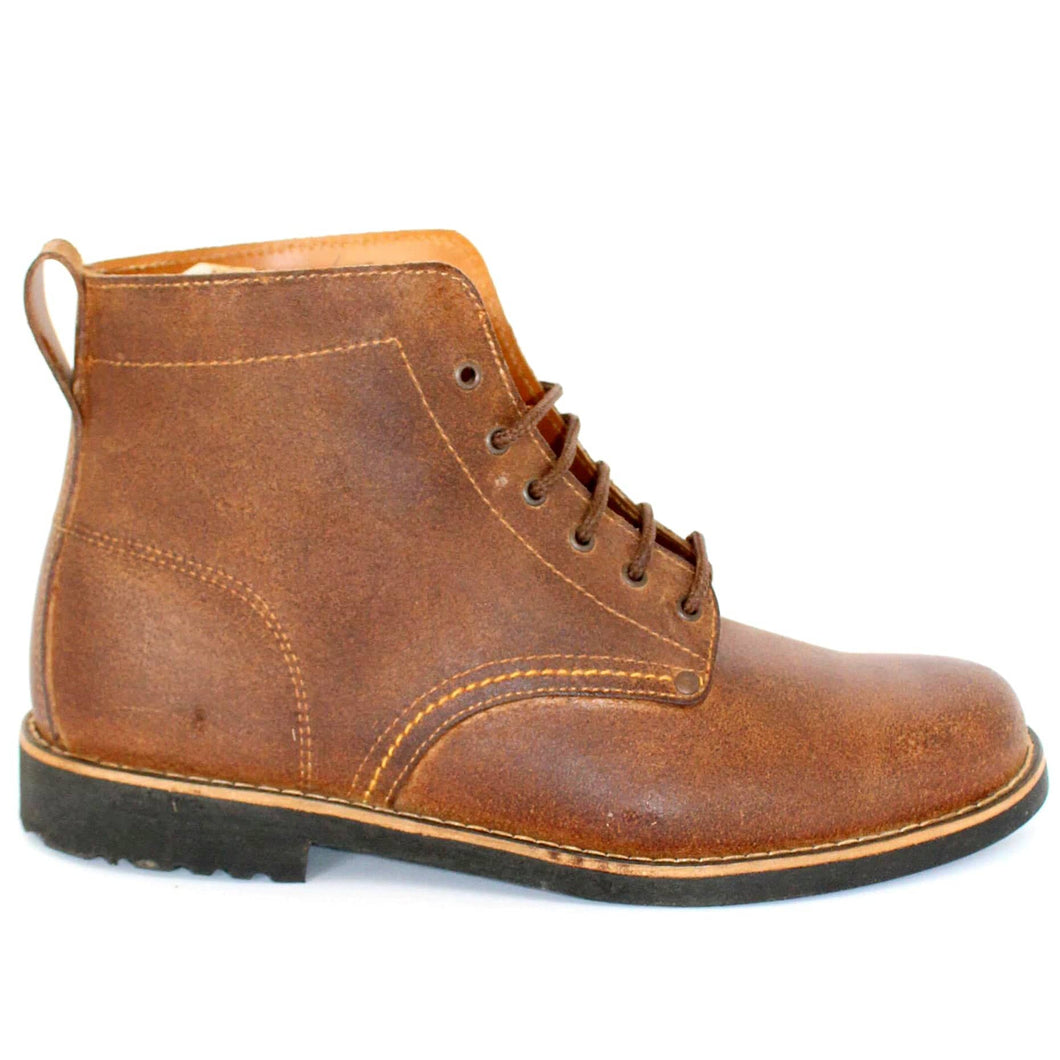 Douro Boots - OldMulla - Boots Store, Handmade By George, Vintage Men Boots, Handmade Casual Elegant Boots & Shoes for Men Brown Vintage High Quality Motorcycle Cafe Racer OldMulla