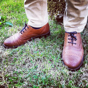 Minho Shoes - OldMulla - Boots Store, Handmade By George, Vintage Men Boots, Handmade Casual Elegant Boots & Shoes for Men Brown Vintage High Quality Motorcycle Cafe Racer OldMulla