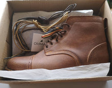 Load image into Gallery viewer, Tejo Boots - OldMulla - Boots Store, Handmade By George, Vintage Men Boots, Handmade Casual Elegant Boots & Shoes for Men Brown Vintage High Quality Motorcycle Cafe Racer OldMulla