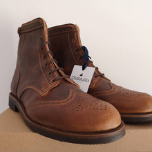Load image into Gallery viewer, Guadiana Boots - OldMulla - Boots Store, Handmade By George, Vintage Men Boots, Handmade Casual Elegant Boots & Shoes for Men Brown Vintage High Quality Motorcycle Cafe Racer OldMulla