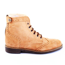 Load image into Gallery viewer, Mondego Women Boots - OldMulla - Boots Store, Handmade By George, Vintage Men Boots, Handmade Casual Elegant Boots & Shoes for Men Brown Vintage High Quality Motorcycle Cafe Racer OldMulla