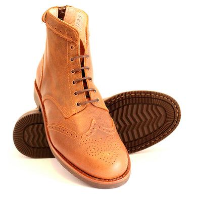 Guadiana Boots - OldMulla - Boots Store, Handmade By George, Vintage Men Boots, Handmade Casual Elegant Boots & Shoes for Men Brown Vintage High Quality Motorcycle Cafe Racer OldMulla