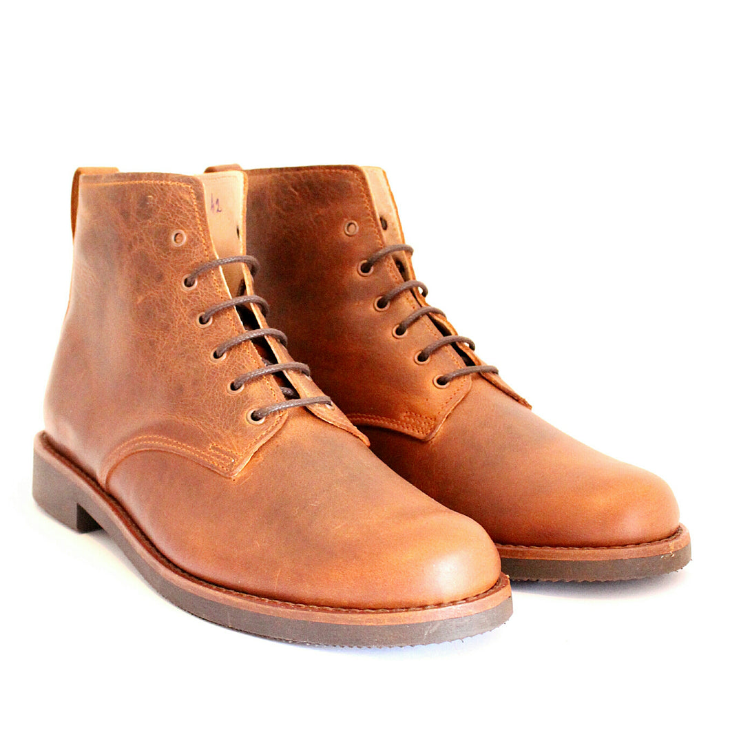 Vouga Boots - OldMulla - Boots Store, Handmade By George, Vintage Men Boots, Handmade Casual Elegant Boots & Shoes for Men Brown Vintage High Quality Motorcycle Cafe Racer OldMulla