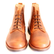 Load image into Gallery viewer, Vouga Boots - OldMulla - Boots Store, Handmade By George, Vintage Men Boots, Handmade Casual Elegant Boots & Shoes for Men Brown Vintage High Quality Motorcycle Cafe Racer OldMulla