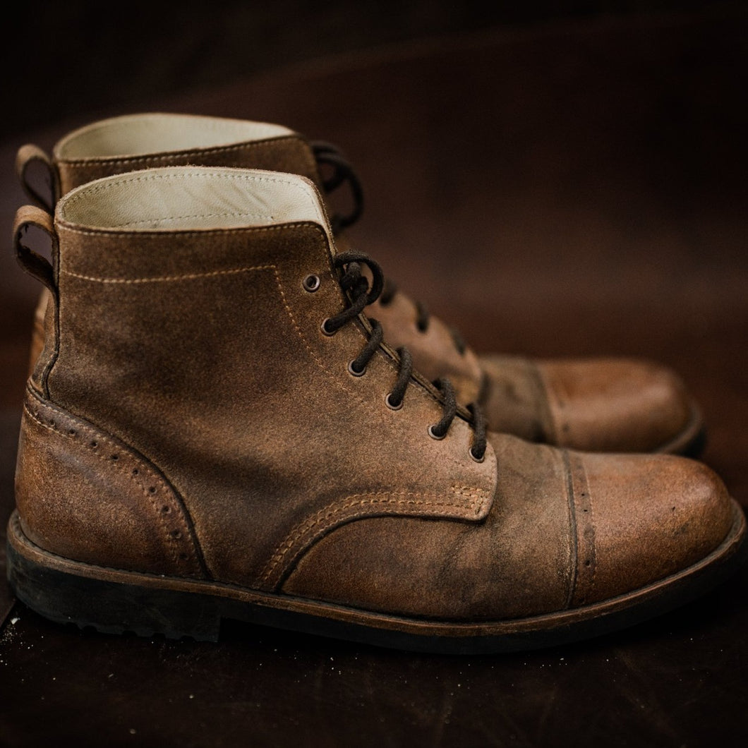 Tejo Boots - OldMulla - Boots Store, Handmade By George, Vintage Men Boots, Handmade Casual Elegant Boots & Shoes for Men Brown Vintage High Quality Motorcycle Cafe Racer OldMulla