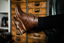 Load image into Gallery viewer, Tâmega Boots - OldMulla - Boots Store, Handmade By George, Vintage Men Boots, Handmade Casual Elegant Boots & Shoes for Men Brown Vintage High Quality Motorcycle Cafe Racer OldMulla