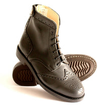 Load image into Gallery viewer, Mondego Black Women Boots - OldMulla - Boots Store, Handmade By George, Vintage Men Boots, Handmade Casual Elegant Boots & Shoes for Men Brown Vintage High Quality Motorcycle Cafe Racer OldMulla