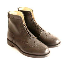 Load image into Gallery viewer, Guadiana Black  Boots - OldMulla - Boots Store, Handmade By George, Vintage Men Boots, Handmade Casual Elegant Boots & Shoes for Men Brown Vintage High Quality Motorcycle Cafe Racer OldMulla