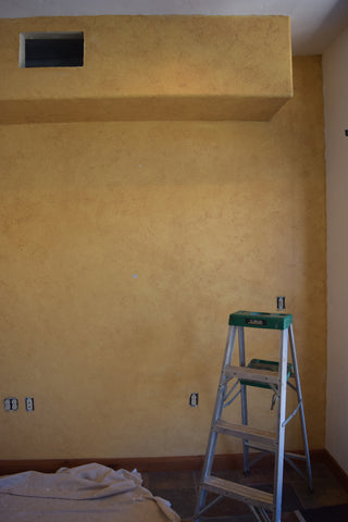 Custom Color with Smooth Lime Plaster and Pigments