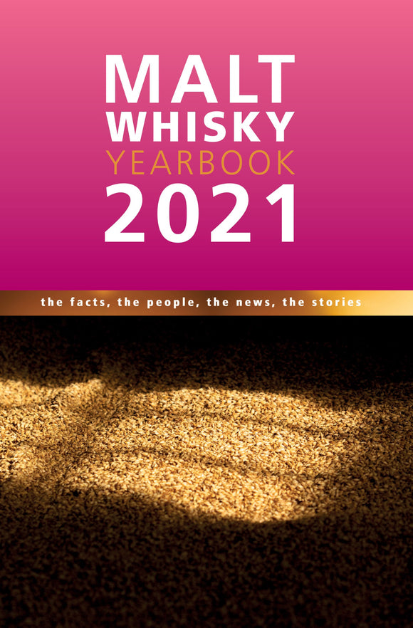 Malt Whisky Yearbook Whiskey Book Ingvar Ronde 2021 Edition Cover