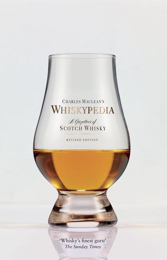 Charles Maclean's Whiskypedia: A Gazetteer of Scotch Whisky Whiskey Book Cover