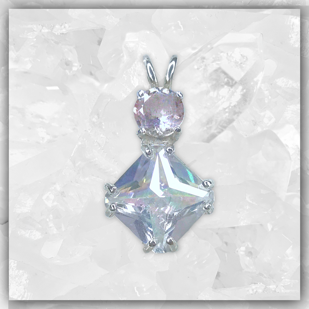Angel Aura Mini Magician Stone™ & Morganite