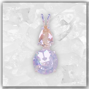 Angel Aura Mini Radiant Heart™ & Morganite