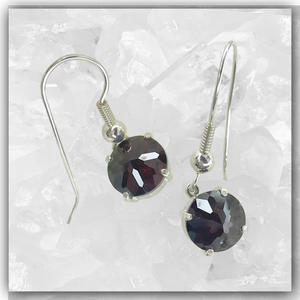 Rhodolite Garnet Radiant Heart™ Earrings