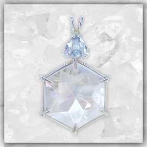 Angel Aura Flower of Life™ & Aquamarine
