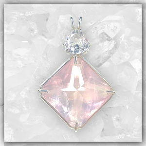 Rose Quartz Magician Stone™ with Danburite
