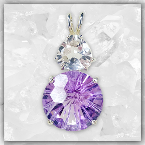 Amethyst Super Nova™ & Clear Quartz