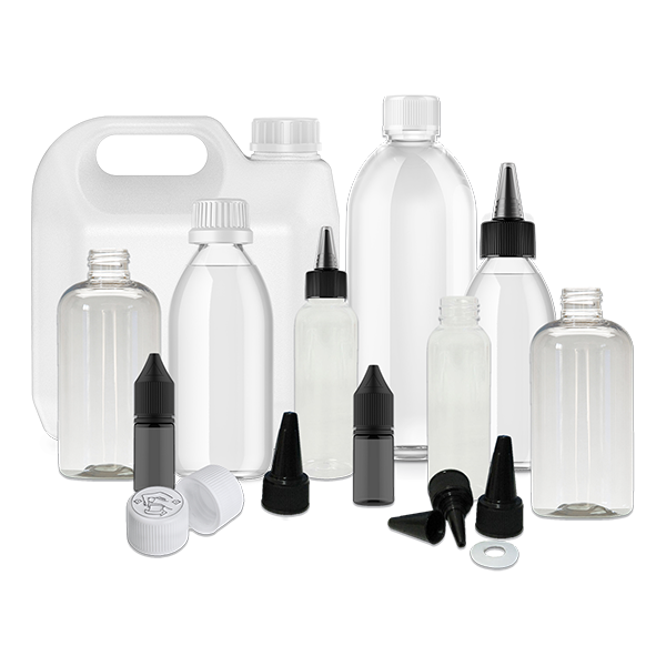 Bottles & Accessories - VapeBunkerUK