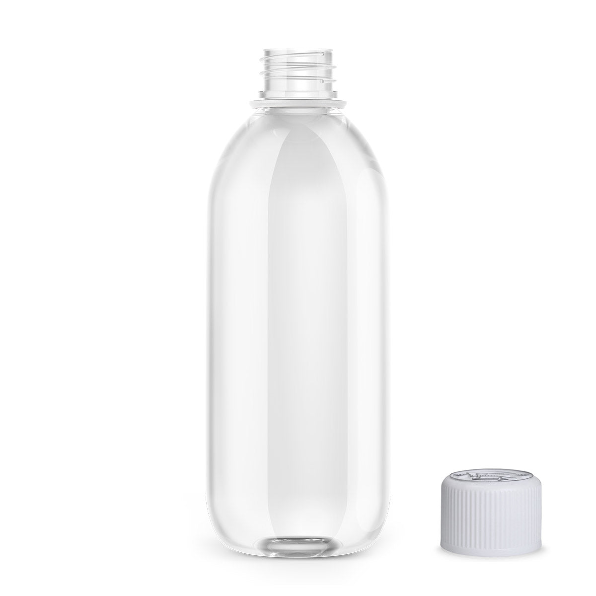 500ml boston PET bottle - VapeBunkerUK