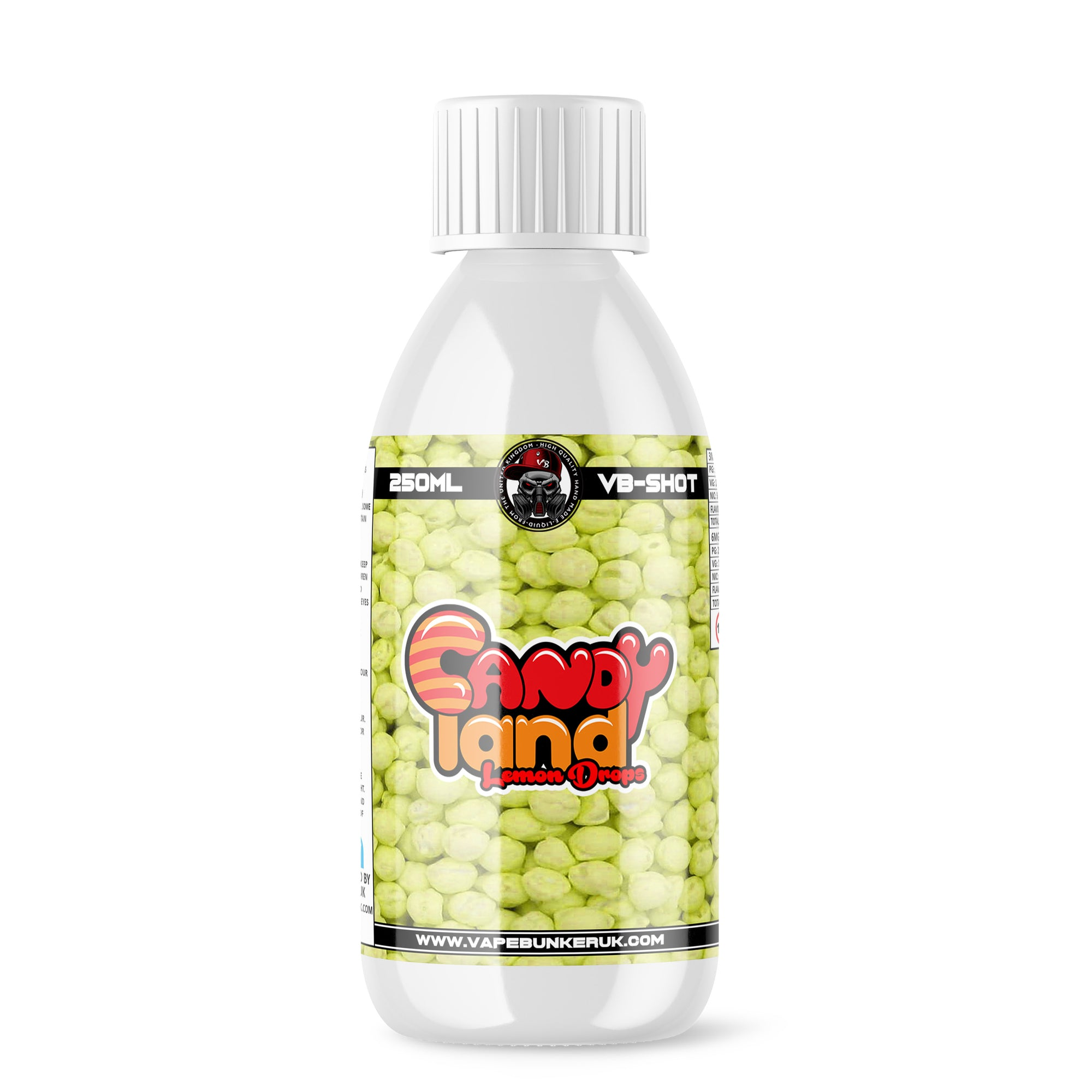 Lemon Drops Shortfill E-liquid by VapeBunkerUK