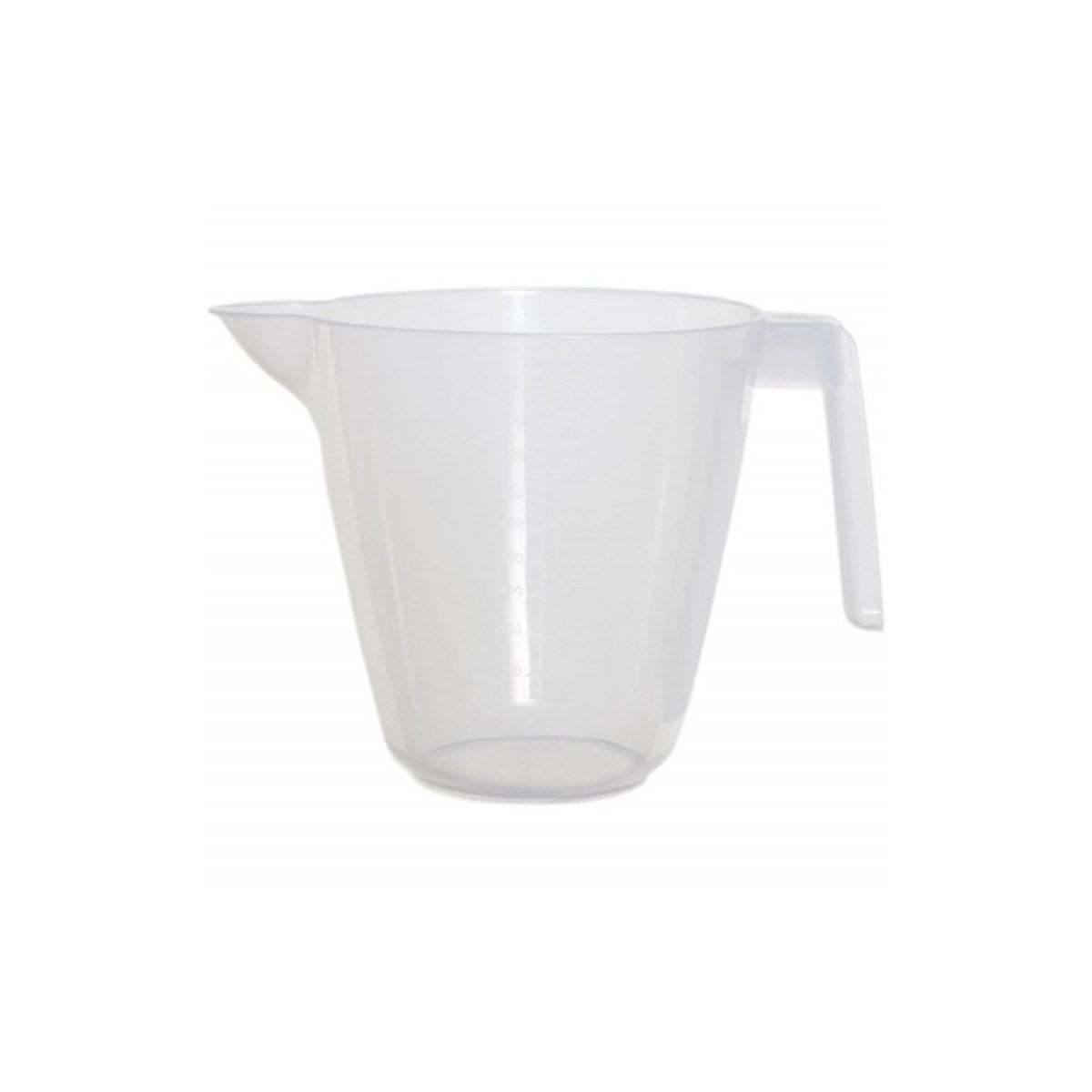 Multi Purpose Transparent Plastic Jug - 1.2 litre - VapeBunkerUK