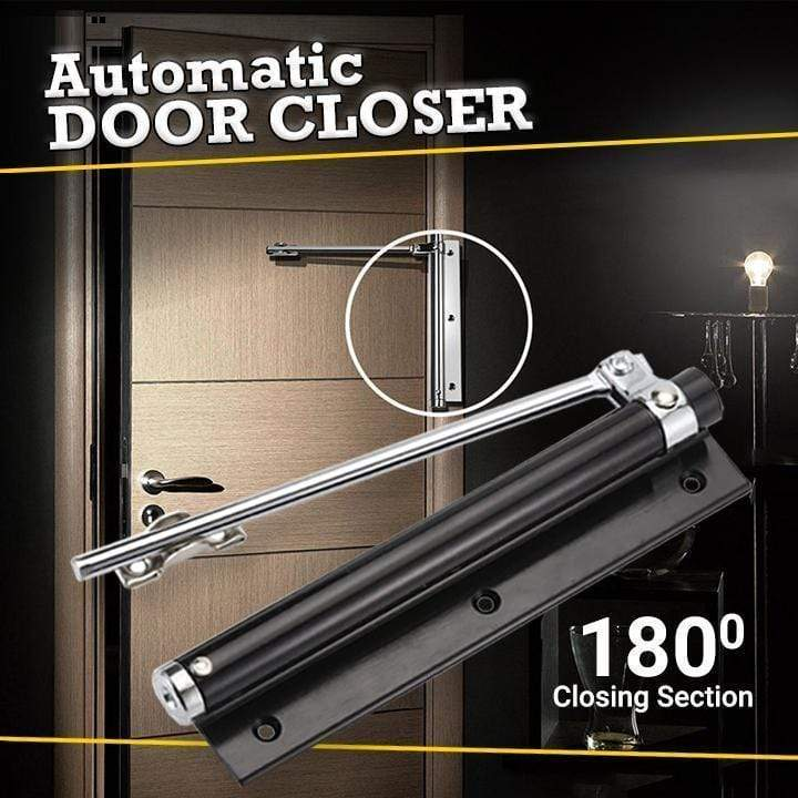1688 Handmade Gloss White / 1 Pc Automatic Door Self-Closing Hinge