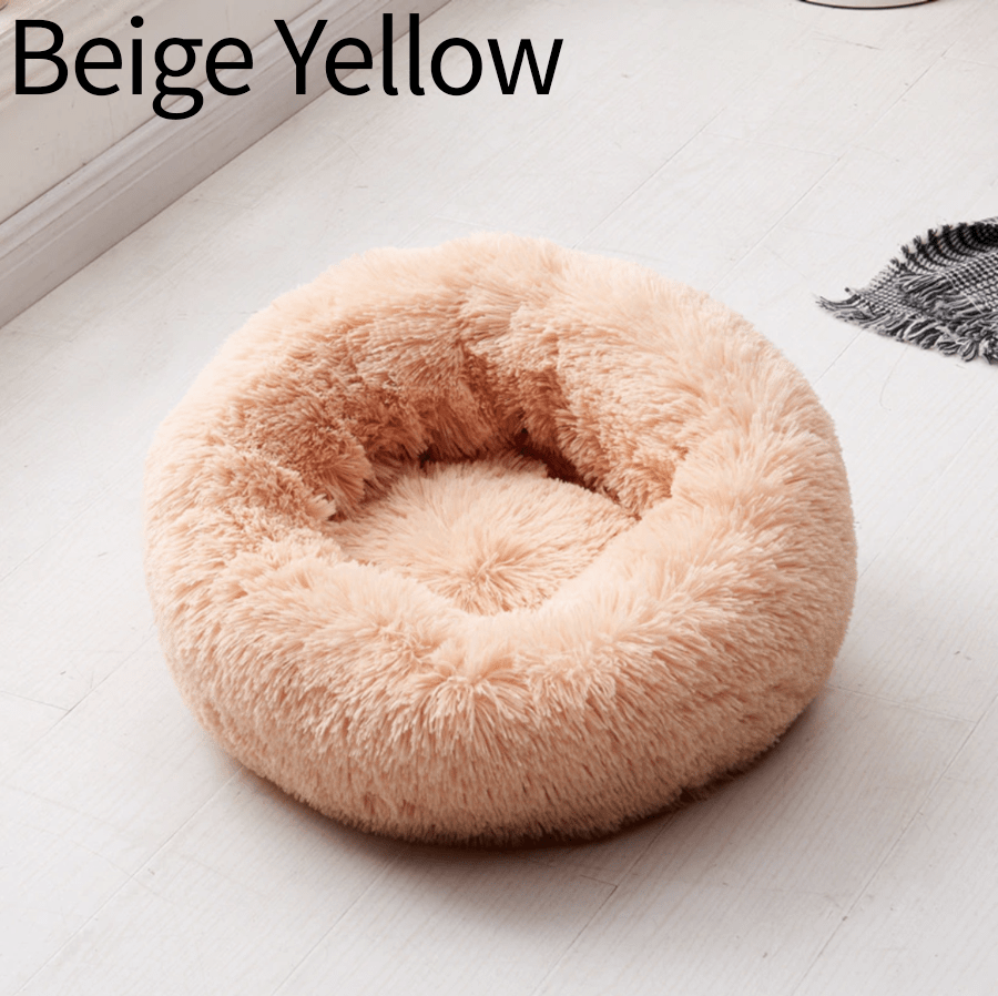 Comfy Pet Home Handmade Beige Yellow / XS Cozy Donut Cuddler - Luxury Dog and Cat Bed™