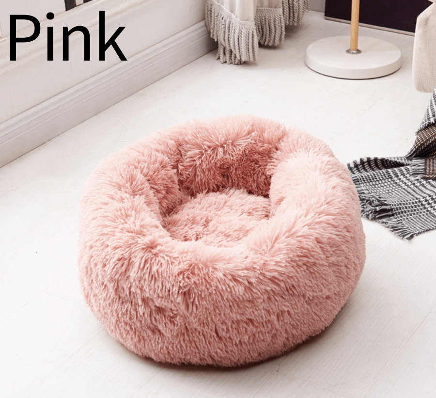 Comfy Pet Home Handmade Pink / XS Cozy Donut Cuddler - Luxury Dog and Cat Bed™