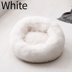 Comfy Pet Home Handmade White / XS Cozy Donut Cuddler - Luxury Dog and Cat Bed™