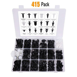 Jokared Handmade Basic Kit - Without Tools 415 PCS Auto Fasteners Kit