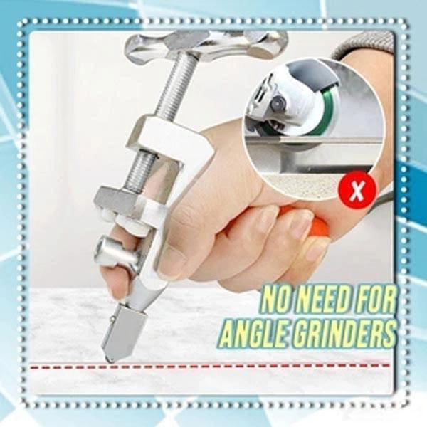 LIFE IS PRETTY Handmade CUTTER HEAD Easy Glide Glass & Tile Cutter
