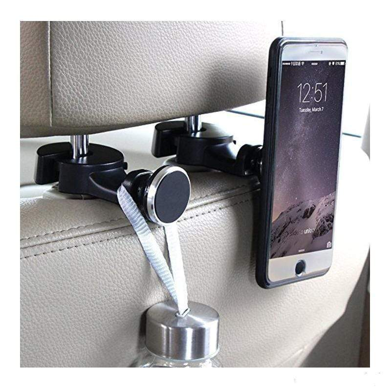 Rapture Unlimited Handmade 360° Magnetic Car Back Seat Phone Holder