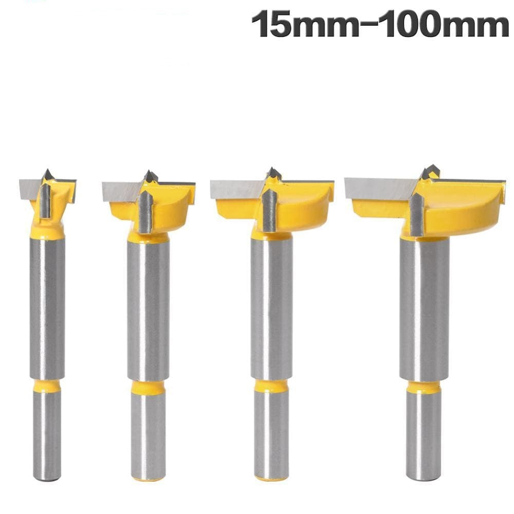 Forstner tipsHole Saw Cutter Hinge Boring drill bits Tungsten Carbide Cutte 15mm-100mm
