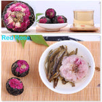 Yoybi Handmade 250g Unique Handmade Pu'er Raw Flower Tea Ball ( FREE TEA CAN)