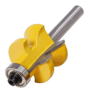 "Yoybi Handmade Option 2pc8mm"" Shank V Groove & Matched Tongue Router Bit Set w/ premium ball bearings Woodworking cutte"