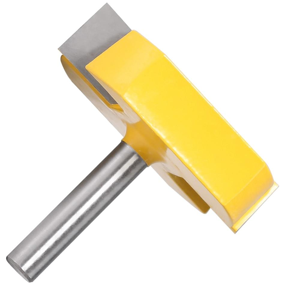 Yoybi Handmade Option Cleaning Bottom Router Bits with 8mm Shank,2-3/16 Cutting Diameter for Surface Planing Router Bit