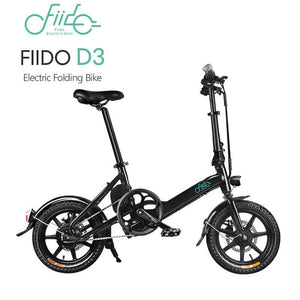 Yoybi Handmade FIIDO D3 BLACK FIIDO D2S D3 Folding Electric Moped Bike City Bike