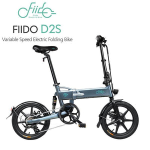 Yoybi Handmade FIIDO D2S GRAY FIIDO D2S D3 Folding Electric Moped Bike City Bike