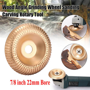 Yoybi Handmade Grinder Shaping Disc - Aperture 22mm(7/8 inch) Bore