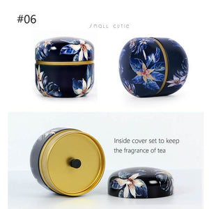Yoybi Handmade #06 Portable Food Sealed Cans Flower Tea Cans Tea Cans Candy Box