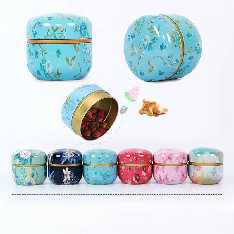 Yoybi Handmade Portable Food Sealed Cans Flower Tea Cans Tea Cans Candy Box