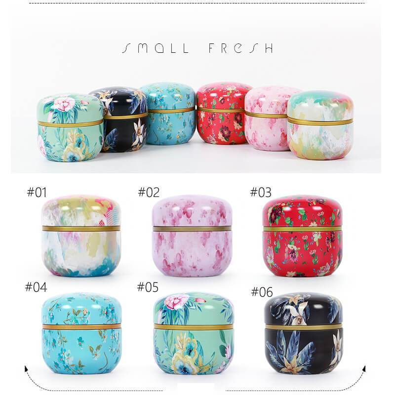 Yoybi Handmade Potable Food Sealed Cans Flower Tea Cans Tea Cans Candy Box