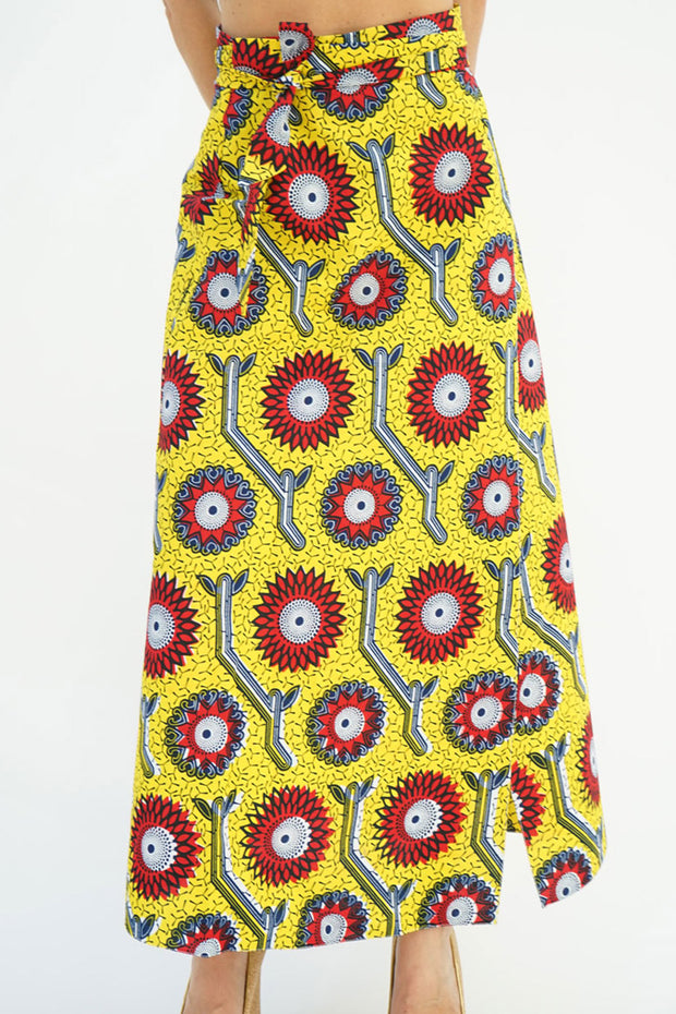 READING SKIRT - CHRYSANTHEMUM