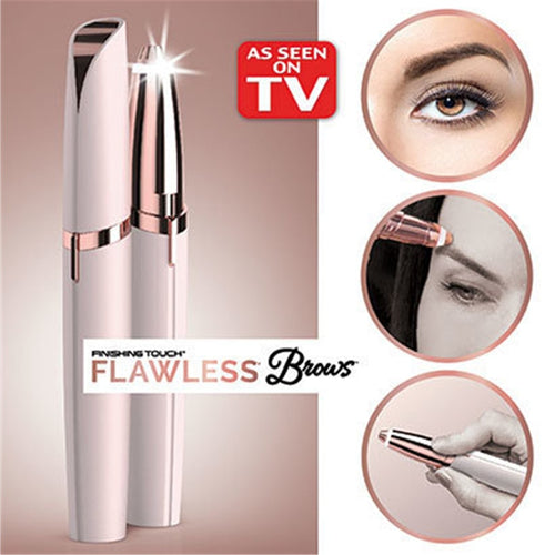 Flawlessly Brows Eyebrow Trimmer Electric Hair Remover
